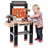 Charles Bentley Smoby The Bricolo Centre - Black & Decker Werkbank-Lern-Spielset für Kinder