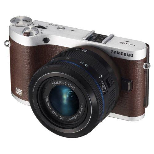 Samsung NX300 18-55mm And 50-200mm Kit - 20.3MP - WiFi - Touch -NextGen Smart Cam