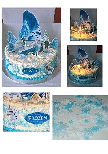 Frozen Disney 1 de gâteau pour fête Stands jusqu'en carte 45 pièces