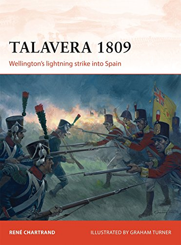 Talavera 1809: Wellington's lightning strike into Spain (Campaign) por René Chartrand