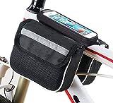 Supporto custodia sacca borsa porta oggetti da bici bicicletta per smartphone cellulare