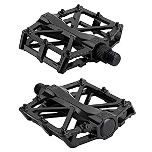 AllRight Alloy Flat-Platform Pedals For Cycling Mountain MTB BMX Bike Bicycle Bearing 9/16 Inch