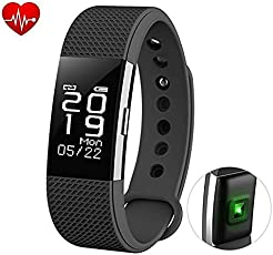 Captcha F2 Waterproof Fitness Tracker Smartwatch with Heart Rate Monitor for Samsung Mobile & Mi A1 Mobile