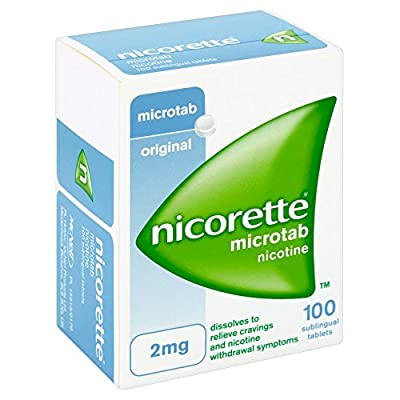 Nicorette Nicotine Micro Tab from Johnson And Johnson