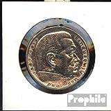 Deutsches Reich Jägernr: 360 1935 D sehr schön Silber 1935 5 Reichsmark Hindenburg (Münzen für Sammler)