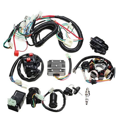 Quad CDI 125cc 150cc 250cc ATV de redresseur de bobine de solénoïde de faisceau de câblage