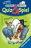 Ravensburger 23305 - Quiz & Spiel: Entdecke die Tiere - Mitbringspiel