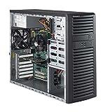 Supermicro SuperWorkstation 5039a-il Intel C236LGA 1151(Socket H4) Midi-Tower schwarz Barebone-PC (ATX, Intel C236, LGA 1151(Socket H4), Celeron, Core i3, Core i5, Core i7, Pentium, Xeon, 95W, DIMM)