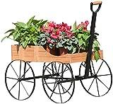 sunjoy Eisen Holz Blume Ständer