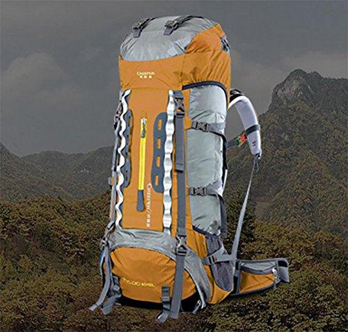 Taschen lose Langstrecken Wandern Camping Reisen Kletterrucksack rust red