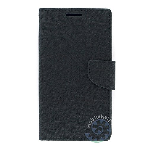 Tingtong Mercury Goospery Diary Wallet Flip Case Back Cover for Micromax A114 Canvas 2.2 - Full Black  available at amazon for Rs.249