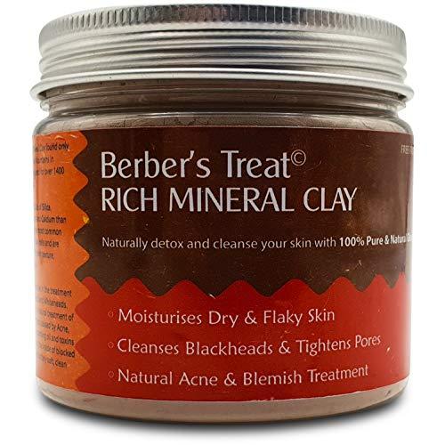 Rich Clay masque minéral pour la peau grasse, pores obstrués, l'acné et le traitement Eczéma, Masque naturel Supprime comédons et Imperfections - Traitements Spa Pour Flaky et la peau sèche