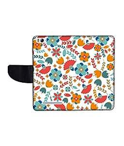 KolorEdge Printed Flip Cover For Xiaomi Mi 4I Multicolor - (1478-50KeMLogo11455XiaomiMI4I)