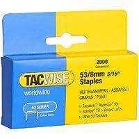 Tacwise 0335 - Caja 2000 grapas galvanizadas 53/8mm