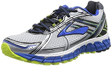 Brooks Men's Adrenaline GTS 15 White/Olympic/Lime Punch Athletic Shoe