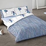 Burrito Blanco - Funda nórdica 684 Azul de cama de 150x190/200 cm