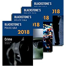 Blackstone's Police Q&A: Four Volume Pack 2018 (Blackstone's Police Manuals)