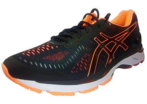 asics-mens-gel-kayano-23-sneakers-black-black-hot-orange-vermilion-10-uk