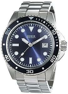 Guess - W0610G1 - Montre Homme - Quartz - Analogique - Bracelet Acier inoxydable Argent