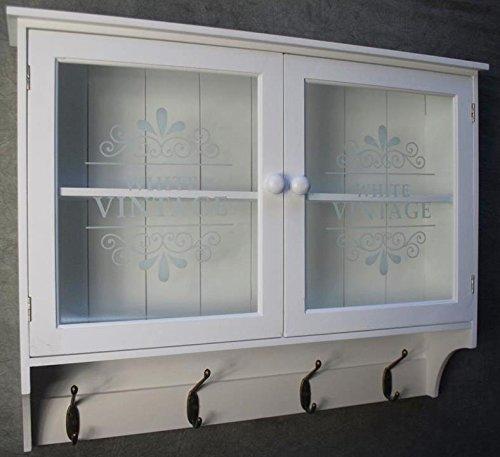 livitatwandschrank küchenregal hängeschrank glastüren landhaus