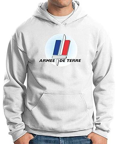 L Armee De Terre - T-Shirtshock - Sweatshirt a Capuche TM0370 Armee