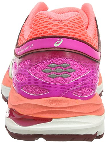 Asics Gel-Cumulus 17, Scarpe da Corsa Donna Rosa (pink Glow/pistachio/flash Cora 3587)