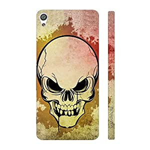 Enthopia Designer Hardshell Case SKULLY SCARE Back Cover for Sony Xperia XA