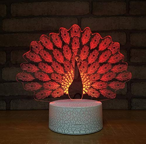 (Licht des kreativen Werbungs-Lichtes USB 3D führte energiesparende Tischlampe-Sprungs-Sprung-Weihnachten Halloween)
