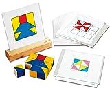 Logo Lern-Spiel-Verlag Nikitin-Material Rastervorlagen Musterwürfel Geo-Würfel - 60 Vorlagen in Originalgröße zur Frühförderung