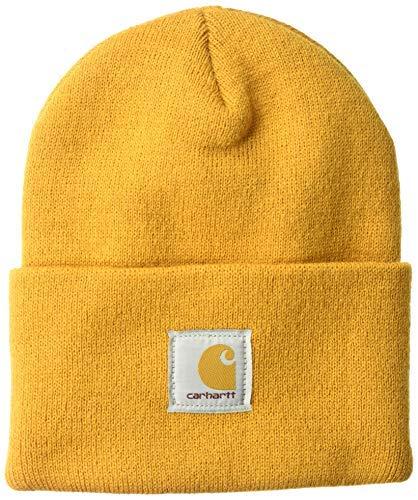Carhartt watch hat - berretto da lavoro, uomo, a18, carhartt gold, taglia unica