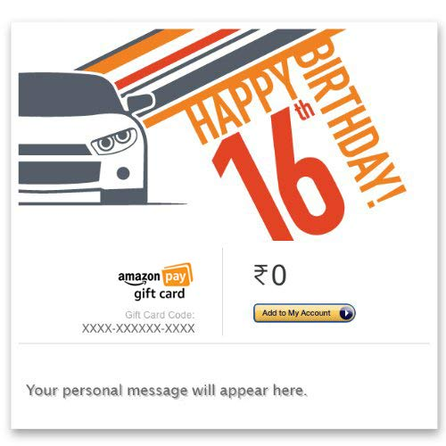 16th Birthday Car