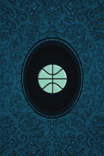 Monogram Basketball Journal: Blank Notebook Diary Log: Volume 52 (Monogram Cerulean 365 Lined) por N.D. Author Services