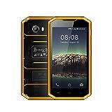 Téléphone Portable Débloqué, Kenxinda W7 IP68 Smartphones (5.0 Pouces HD Ecran avec Android 5.1 Système, Outdoor Smartphone Etanche/Antichoc/Antipoussière, 1 Go de ROM et 8 Go de RAM, Dual Sim 2600mAh Batterie)