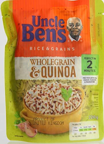 Grains Entiers Et Le Riz De Quinoa De 220G De L'Oncle Ben