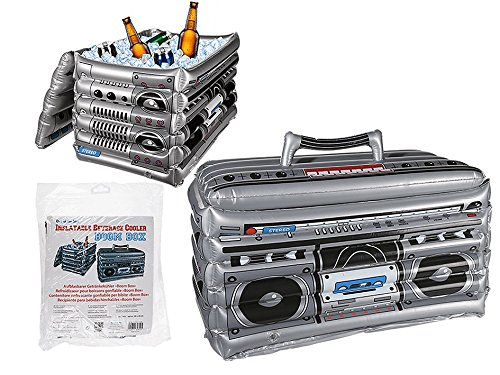 Out of the blue 91/4143 - Enfriador de Bebida Inflable Boom Box, One Size
