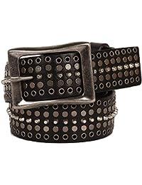 in vendita b2486 6facb Amazon.it: cintura borchie uomo - 105 / Cinture / Accessori ...