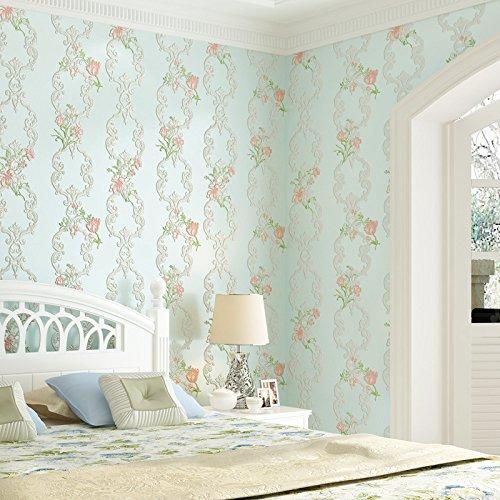 Einfache selbstklebende Tapete Wohnzimmer Schlafzimmer Studie selbstklebende Tapete Pulver 0,53 m * 10 m - Yamaha 10m