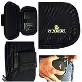 Tasche Hardcase für Freestyle Libre Messgerät I & II, Gürteltasche Blutzuckermessgerät, Diabetikertasche ZENXEAY