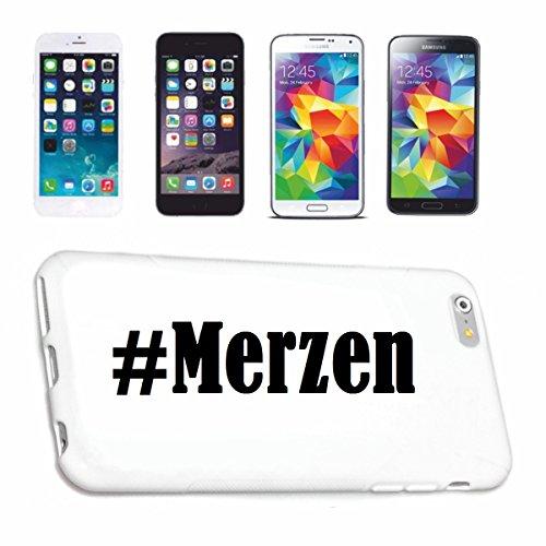 Handyhülle iPhone 4 / 4S Hashtag ... #Merzen ... im Social Network Design Hardcase Schutzhülle Handycover Smart Cover für Apple iPhone … in Weiß … Schlank und schön, das ist unser HardCase. Das Case wird mit einem Klick auf deinem Smartphone befestigt