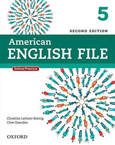 American English File Second Edition 5 Student Book Pack: With Online Practice by Christina Latham-Koenig (2013-04-21)