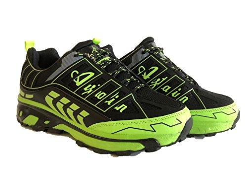 Australian Au408, Chaussure De Course À Pied Black Men's Trail