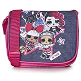 L.O.L. Surprise ! Sac à Main LOL Surprise avec Poupées LOL Diva, Rocker Et Beats, Sac à Bandoulière Fille, Petit Sac Fillette, Sacoche Enfant Bandoulière, Cadeau Filles 5 6 7 8 9 10 + Ans