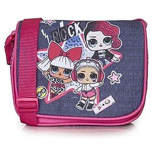 L.O.L. Surprise! Handtasche, Umhängetasche Für Mädchen Und Jugendliche, Schultertasche Mit LOL Puppen Diva, Rocker Und…