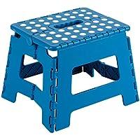 Arregui TB-021-A - Taburete plegable 25x20x21cm azul - mueblesdebanoprecios.eu - Comparador de precios