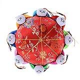 sevenmye Oriental Nadel Nadelkissen mit 8Kinder, Rot