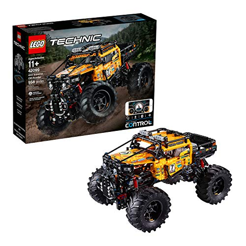 LEGO 42099 Technic Control+ 4x4 X-treme Off-Roader Truck App Controlled Construction Set, Interactive Motors and Bluetooth Connectivity