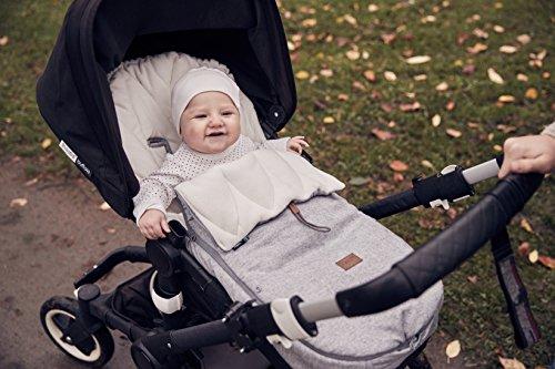 Najell Fußsack für Kinderwagen Wintercover, Morning grey