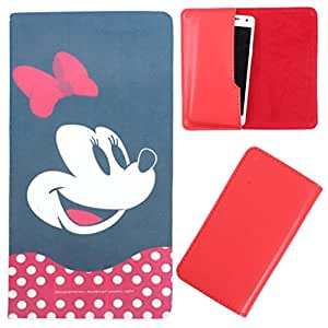 DooDa - For Ma434 MSD7 3G - AX51 PU Leather Designer Fashionable Fancy Case Cover Pouch With Smooth Inner Velvet