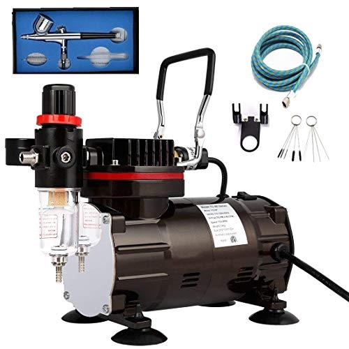 Aerógrafo Profesional Kit Mini compresor aerógrafo