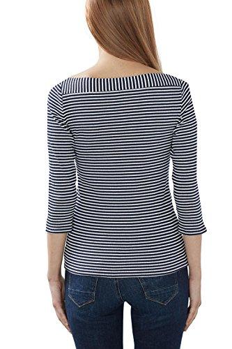 Esprit 027eo1k003, T-Shirt Femme Bleu (Navy 2)